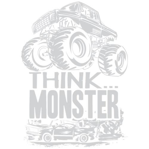 Think Monster Truck Grey