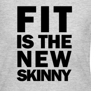 Fit is the new skinny Long Sleeve Shirts - Women's Long Sleeve Jersey T-Shirt