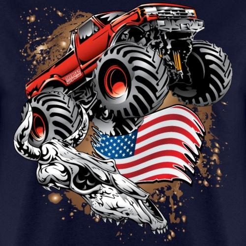 Monster Truck USA Skull