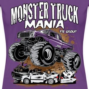 Monster Truck Mania Group Women's T-Shirts - Women's Premium T-Shirt