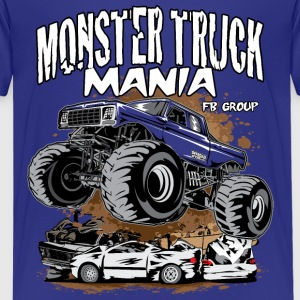 Monster Truck Mania Group Kids' Shirts - Kids' Premium T-Shirt