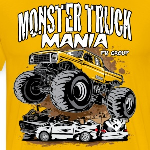 Monster Truck Mania Group T-Shirts - Men's Premium T-Shirt