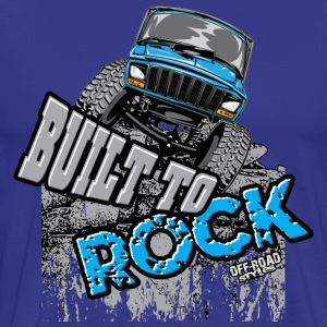 jeep-crawler-rock-built-b T-Shirts - Men's Premium T-Shirt