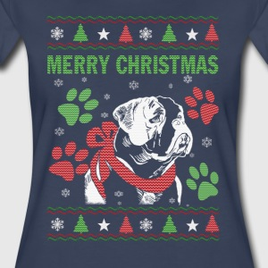 Bulldog Christmas - Women's Premium T-Shirt