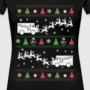 Postal Worker Christmas - Women's Premium T-Shirt