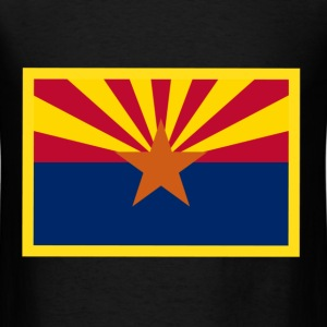Arizona Flag T-Shirts - Men's T-Shirt