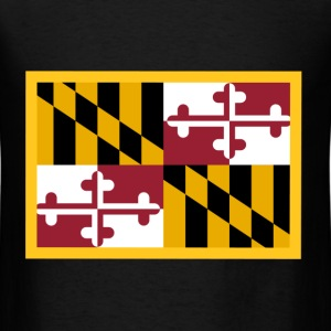 Maryland Flag T-Shirts - Men's T-Shirt