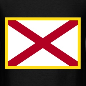 Alabama Flag T-Shirts - Men's T-Shirt