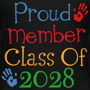 Class Of 2028 Proud Member Kids' Shirts - Kids' Premium T-Shirt
