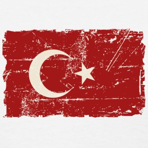 Turkey Flag - Vintage Look Women's T-Shirts - Women's T-Shirt