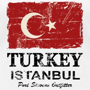Turkey Flag - Vintage Look Women's T-Shirts - Women's Premium T-Shirt
