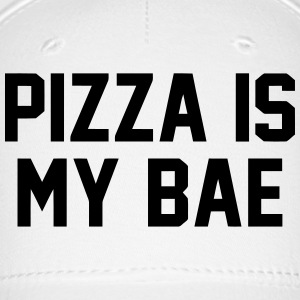 PIZZA IS MY BAE Caps - Baseball Cap