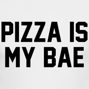 PIZZA IS MY BAE Long Sleeve Shirts - Men's Long Sleeve T-Shirt by Next Level