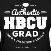 HBCU Grad Shirt - Women's Black and White T-shirt - Women's T-Shirt