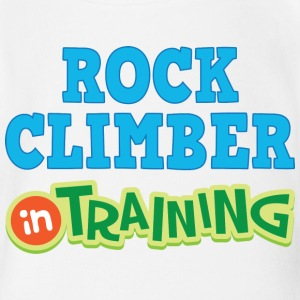 Rock Climber In Training Baby & Toddler Shirts - Short Sleeve Baby Bodysuit