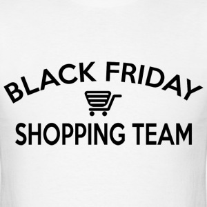 Black Friday Shopping Team - Men's T-Shirt