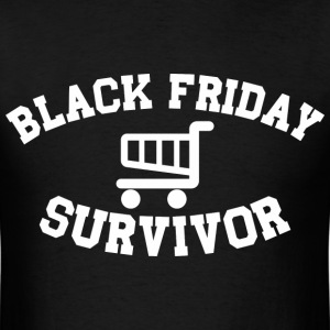 Black Friday Survivor - Men's T-Shirt