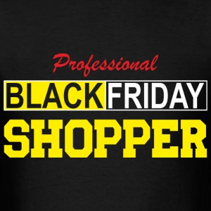 Professional Black Friday Shopper - Men's T-Shirt