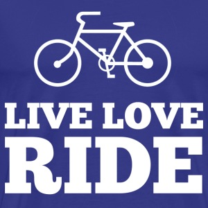 Live Love Ride T-Shirts - Men's Premium T-Shirt