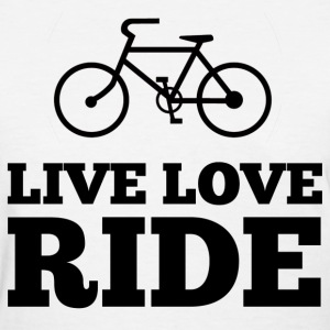 Live Love Ride Women's T-Shirts - Women's T-Shirt