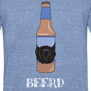 Beerd Shirt - Unisex Tri-Blend T-Shirt by American Apparel