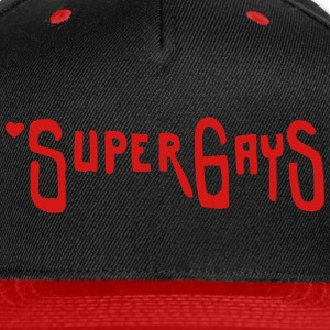 Super Gays Caps - Snap-back Baseball Cap