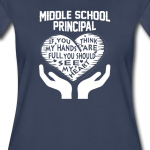 Middle School Principal - Women's Premium T-Shirt