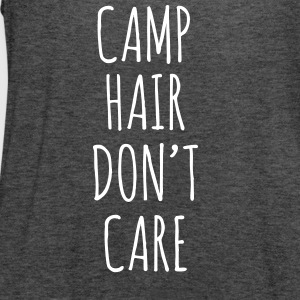 Camp Hair Don't Care - Women's Flowy Tank Top by Bella