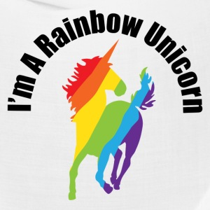 I'm A Rainbow Unicorn Gay and Lesbian Humor Caps - Bandana
