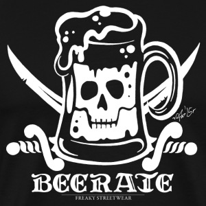 Beerate - white T-Shirts - Men's Premium T-Shirt