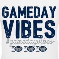 Design ~ Gameday Vibes Blue and Silver