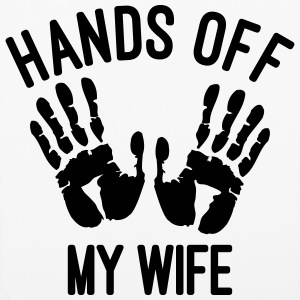 Hands off my wife Accessories - iPhone 6/6s Rubber Case