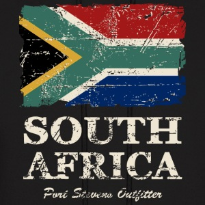 South Africa Flag - Vintage Look  Hoodies - Men's Hoodie
