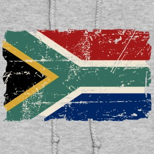 South Africa Flag - Vintage Look  Hoodies - Women's Hoodie