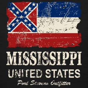 Mississippi Flag - Vintage Look  Women's T-Shirts - Women's T-Shirt