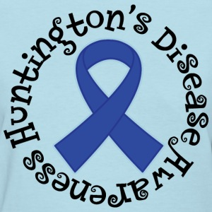 Huntingtons Disease Ribbon Women's T-Shirts - Women's T-Shirt