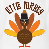 Design ~ Little Turkey Thanksgiving Baby T-shirt