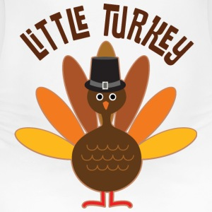 Little Turkey Thanksgiving Women's T-Shirts - Women's Maternity T-Shirt