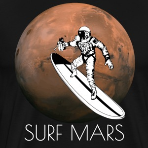 Surf Mars - Men's Premium T-Shirt