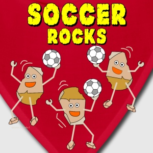 Three Soccer Rocks Light Caps - Bandana