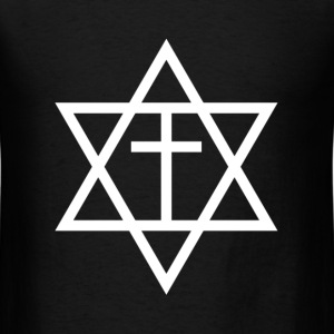 Messianic Judaism Symbol T-Shirts - Men's T-Shirt