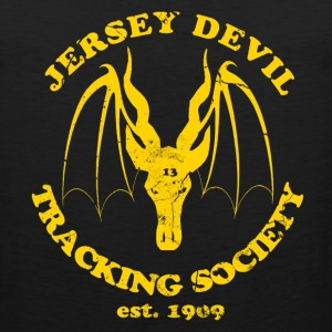 Jersey Devil Tracking Society  Tank Tops - Men's Premium Tank