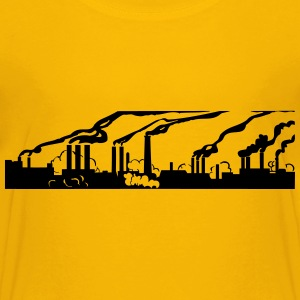 Industry pollution - Kids' Premium T-Shirt