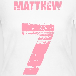 Matthew 7 - Women's Long Sleeve Jersey T-Shirt