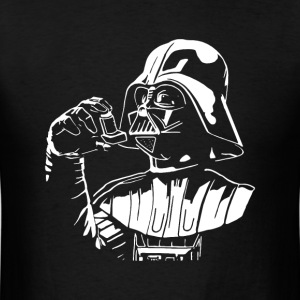 Funny star wars darth vader inhaler t-shirt - Men's T-Shirt
