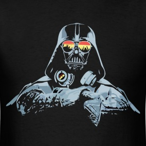 Funny star wars darth vader DJ parody t-shirt - Men's T-Shirt
