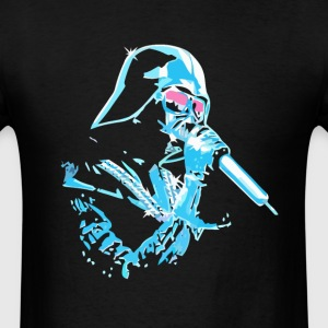 Funny star wars darth vader DJ t-shirt - Men's T-Shirt