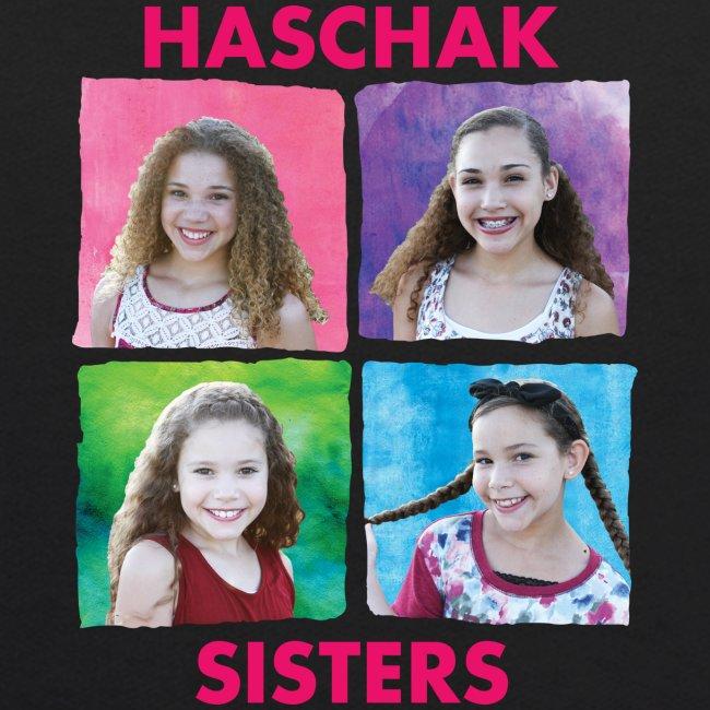 Haschak Sisters Hoodie (Black 2)