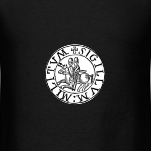 Knights Templar Seal #3 T-Shirts - Men's T-Shirt