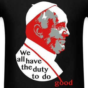 pope Francis quote T-Shirts - Men's T-Shirt